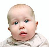 Newborn baby close up — Stock Photo