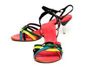 Vrouw schoenen — Stockfoto