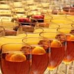 Alcohol glasses — Stock Photo