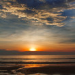 Sunset at Karon beach — Foto Stock