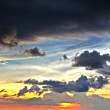 Sunset clouds — Foto Stock