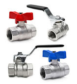 Water valve set — Stock Photo