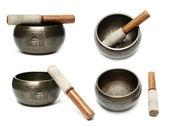 Tibetan singing bowl — Stock Photo
