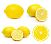 Lemons set — Stock Photo