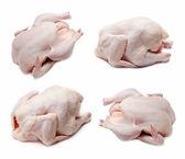 Conjunto de frango cru — Fotografia Stock