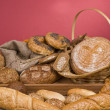 Bread fresh food — Stock Photo