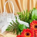 Bouquet of gerberas — Stock Photo