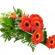 Bouquet of gerberas — Stock Photo #5532038