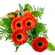 Bouquet of gerberas — Stock Photo #5532100