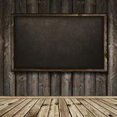 Pizarra de madera interior — Foto de Stock