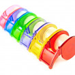 Multicolored Scotch tape collection — Stock Photo #5800221