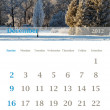 Calendar 2012, December - Foto Stock