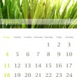 Calendar 2012, March - Foto Stock