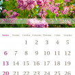 Calendar 2012, May — Stock Photo