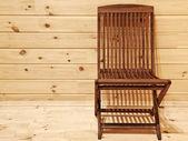Cadeira de madeira — Foto Stock