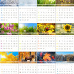 Calendar 2012 — Stock Photo #6166306
