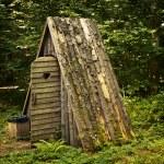 Wooden toilet — Stock Photo #6434989