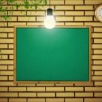 School blackboard — Stock Vector