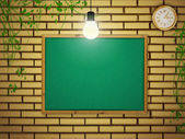 School blackboard — Stock Vector