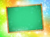 学校の黒板 — ストックベクタ