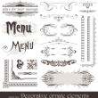 Royalty-Free Stock Vector Image: Decorative design elements & page decor