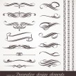 Vector decorative design elements & page decor - Stockvektor