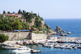 Antalya harbor — Stock Photo