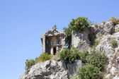 Lycian tomb — Stock Photo