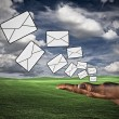 Sending mail — Stock Photo #6434646