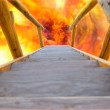 Wooden Stairway to Hell — Stock Photo #6219283