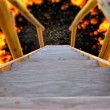 Wooden Stairway to Hell — Stock Photo