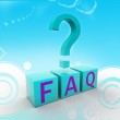 Frequently Asked Questions symbol — Stock Photo #5880226