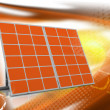 Mono-crystalline solar panels — Stock Photo