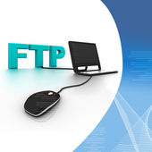FTP Connection — Stock Photo