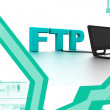 Stock Photo: FTP Connection