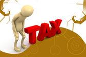 Tax concept — Foto Stock