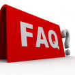 Help faq - Stock Photo
