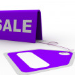Sale tag - Stock Photo