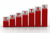 Increase in capital — Stock Photo