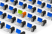 Computer networking — Stock Photo