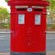 Stock Photo: London mail-box