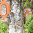 Balinese sandstone sculpture — Stock Photo