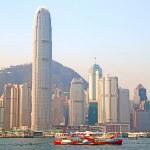 Hong Kong ferry — Stock Photo #5732043