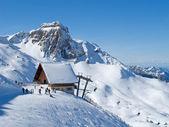 Kayak yamacı — Stok fotoğraf