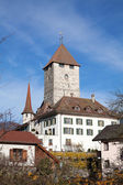 Spiez castle — Stockfoto