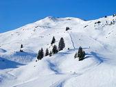 Esquí cuesta — Foto de Stock