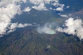 Lago volcánico — Foto de Stock