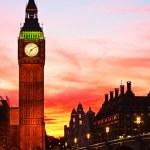 London. Big Ben clock tower. — Stock Photo