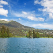 Small alpine lake — Stock Photo #5897599