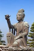 Bodhisattva statue — Stock Photo